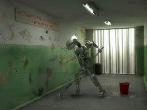 robot janitor